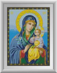 30533 Набор алмазной мозаики Икона Божьей матери