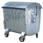Galvanized container 1.1 cube
