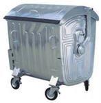 Galvanized container 1.1 cube