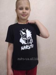 Футболка детская ZaKo c рисунком Наруто на рост 134см