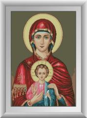 30883 Икона Божьей матери Набор алмазной живописи