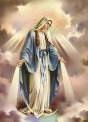 КДИ-0799 Набор алмазной вышивки Дева Мария