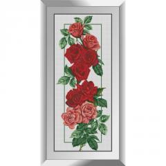 31068 Розы (панель) Набор алмазной живописи
