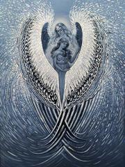 КДИ-0999 Набор алмазной вышивки Под защитой Ангела