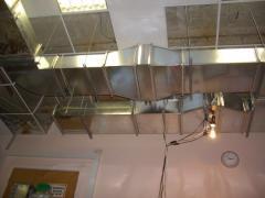 Systems of ventilation of pigsties, Ukraine.