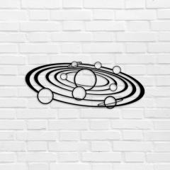 WALL70005-2 Деревянное панно Солнечная система,