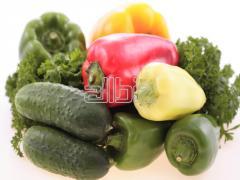 Vegetables organic