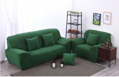 Набор эластичных чехлов на диван + 2 кресла