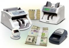 Banknote counters, the bank equipment in Kiev