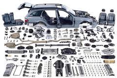 The auto parts which were in the use Bila Tserkva