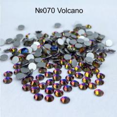 Стразы стекляные Volcano SS3 100 штук