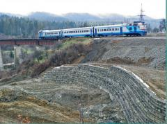 Strengthening of a railway track