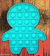 Игрушка Антистресс Push POP It Bubble Famly Games