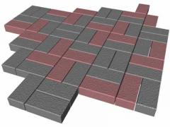 Concrete paving slabs for paths, the price of