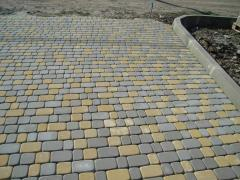 The concrete tile for paths figured Donetsk to buy