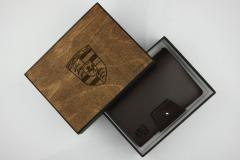 Кожаный Блокнот А6 Коричневого цвета Morison