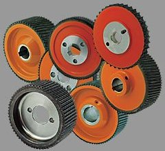 Rollers for the woodworking industry