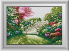30791 Садовая лестница. Набор алмазной мозаики
