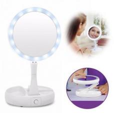 Зеркало с подсветкой для макияжа LED MIRROR