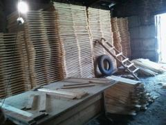 Boards dry - timber of any size and section from