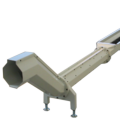 Conveyors for shaving