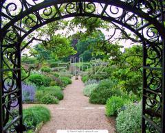 Арки садовые кованые