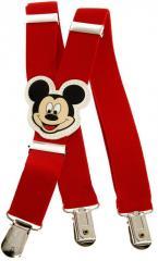 Подтяжки детские красные KWM Mickey Mouse 60...