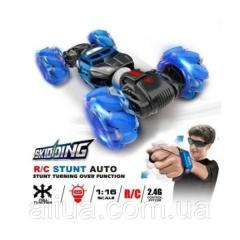 Машинка-перевертыш Skidding Hyper Leopard King с