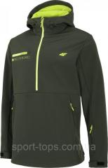 Куртка мужская софтшелл 4F H4Z20 SFM001F (хаки)