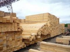 Semi-cross ties wooden