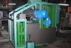 The vertically milling machine for formation of
