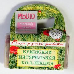 Натуральное мыло ручной работы Чайная роза