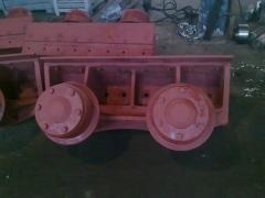 Капитальный ремонт обжиковых тележек ЛУРГА 552