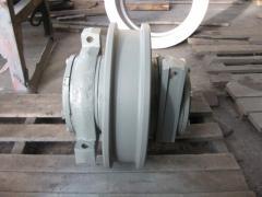 Колесо ходовое в сборе 400 мм