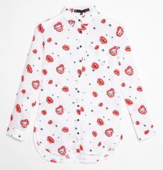 Детская рубашка для девочки Young Reporter Польша