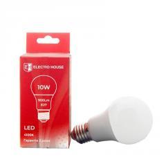 ElectroHouse LED лампа E27/ 4100K / 10W 900Lm