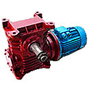 Motor reducer worm MCh100, MCh125 and MCh160