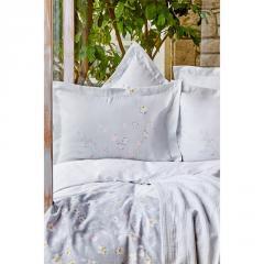 Постельное белье Karaca Home - Nadia gri серый