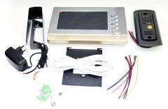 Домофон Intercom V80P-M1 Цветной Видеозвонок с