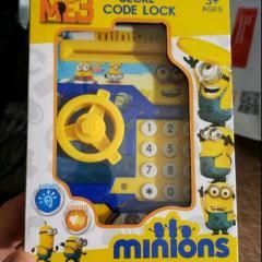 Детская электронная копилка сейф с кодовым замком
