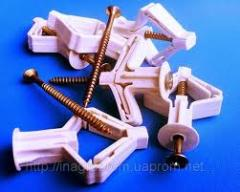 MOLLIE expansion bolt shields for gypsum cardboard