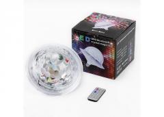 Светодиодный дискошар в патрон LED UFO Bluetooth