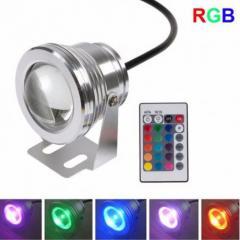Светильник подводный LED RGB IP67 10W 12V с
