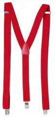 Подтяжки мужские эластичные H&M красные...