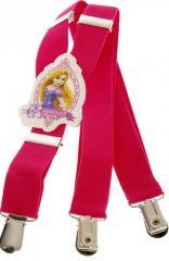 Подтяжки детские для девочки розовые KWM...