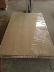 Furniture board from an oak