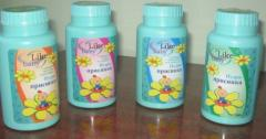 Powder for children of Like baby on 50 and 100 g.