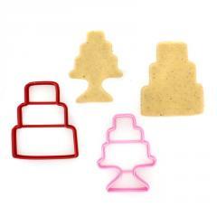 Свадебные торты (8,8 х 7,3 см, 8,8 х 6,6см)