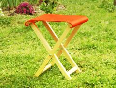 Stool tourist folding, tourist folding-chair