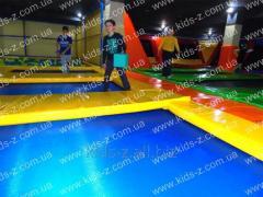 Trampolines, trampoline complex